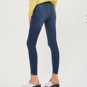TOPSHOP MOTO Indigo Jamie Jeans